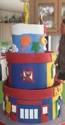 More Sesame Street Cake