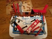 Chris's tool belt cake August,2016