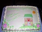 Bride&Groom Shower cake #2