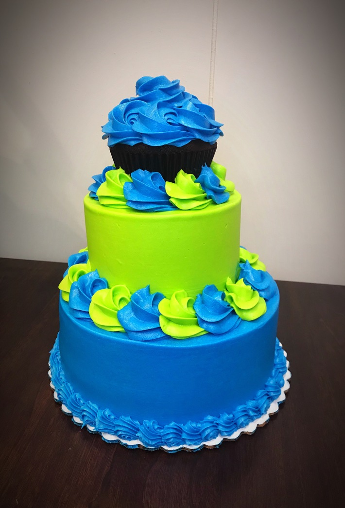Mini stacked cake