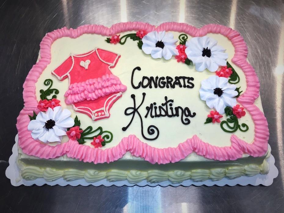 Baby Girl Cake