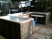 GrowHaus bench system