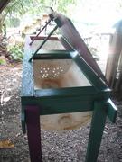 BSF larvae bin