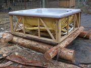 hot tub bed