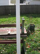 The pvc fence post