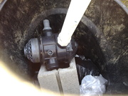 top of sand filter