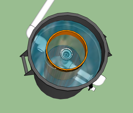 radial swirl filter