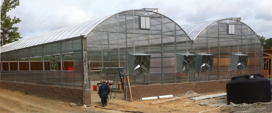Marshall Greenhouse - almost complete
