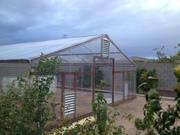 Greenhouse siding on WOOHOO!
