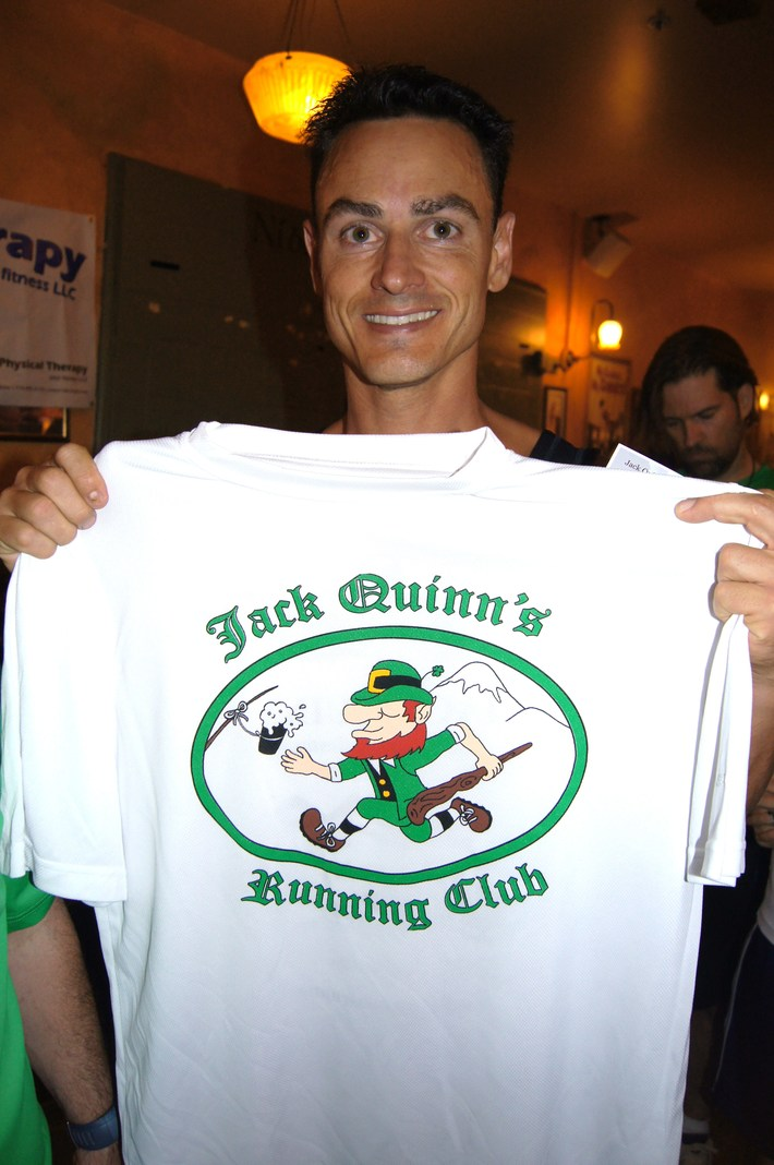 Four claim Jack Quinn's 'Century Club'  shirts