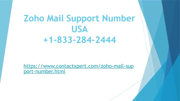 Zoho Mail 1-833-284-2444 Support Number USA