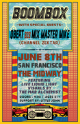 BOOMBOX with special guests DJ Q-Bert & Mixmaster Mike