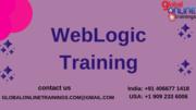 Weblogic online training, weblogic training,top training inistitute for weblogic
