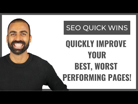 Quickly Improve Best Worst Performing Pages | Pearl Lemon Official