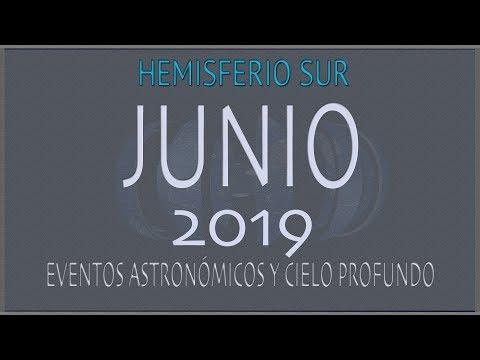 CIELO DE JUNIO 2019. HEMISFERIO SUR