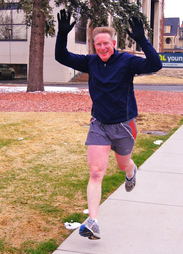 Jack Quinn's Running Club: The freeze continues