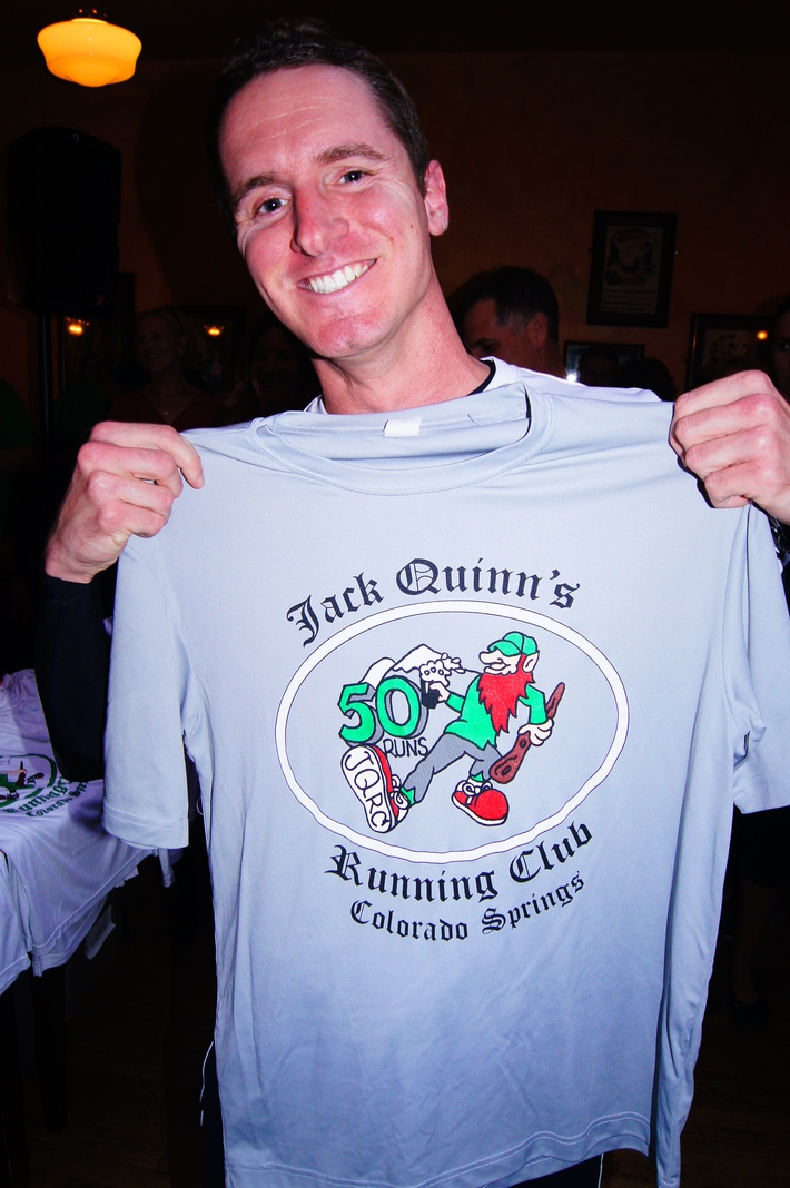 Jack Quinn's Running Club, April 30