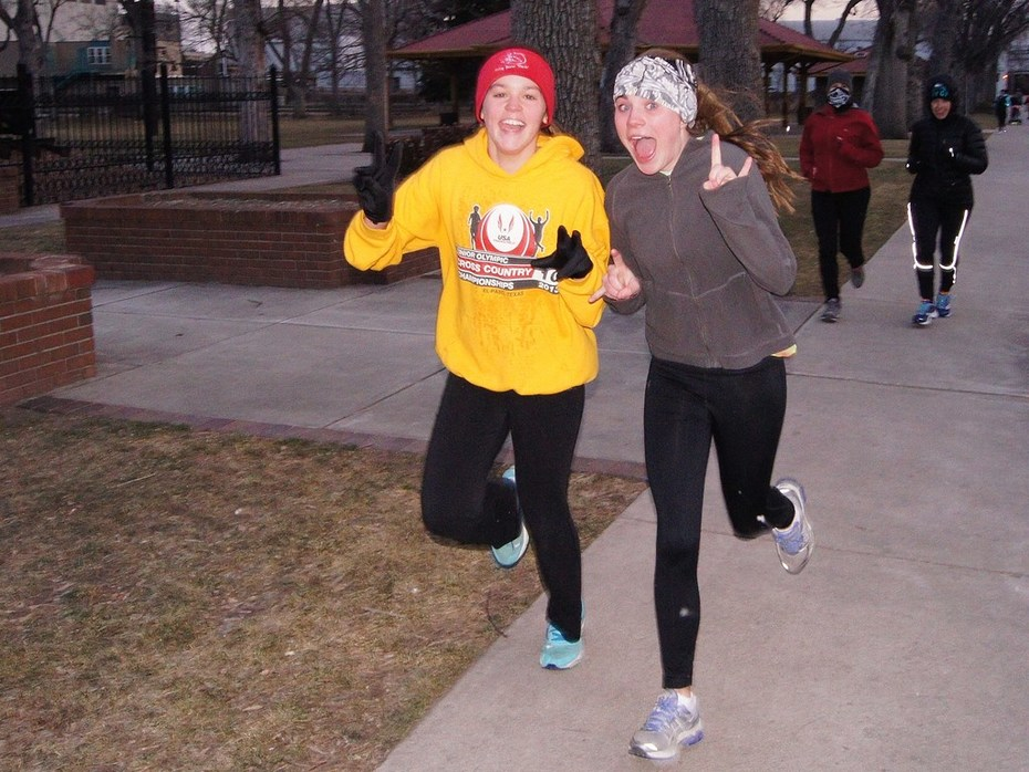 Jack Quinn's Running Club photos, Feb. 25
