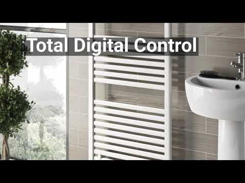 Small Heated Towel Rail