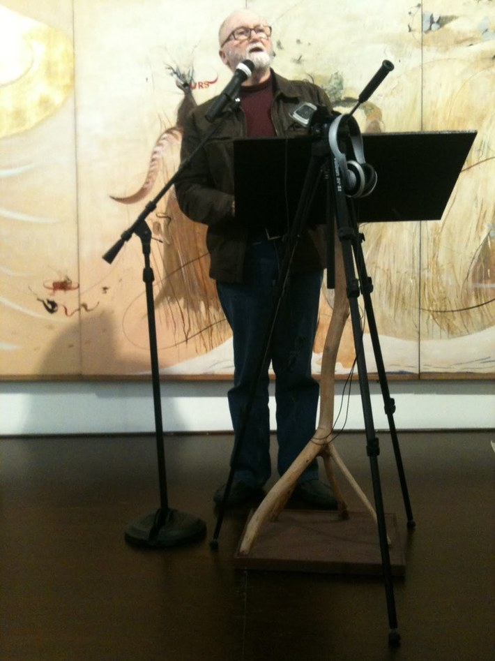 Andrew Burke at Sydney Poets, 2014