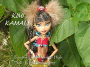 """Kimi Kamali"" One of a Kind Monster High Doll"
