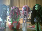 custom monster high dolls.