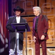 Tommy with Porter Wagoner