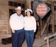 Dr. Larry Flegle and his cowgirl Jan....
