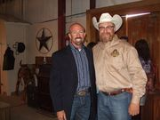 Pastor Dean and Trey Johnson