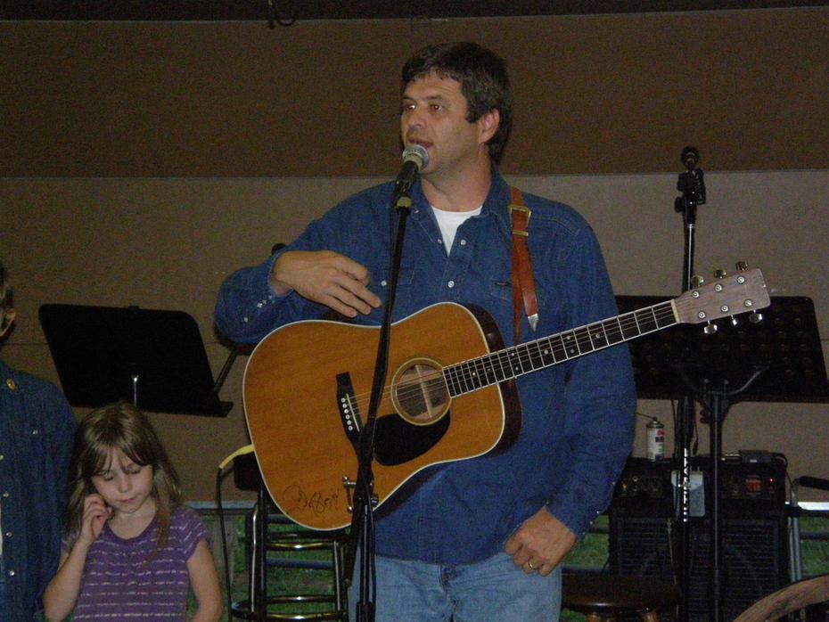 Greg McDougal at Cowboy Church