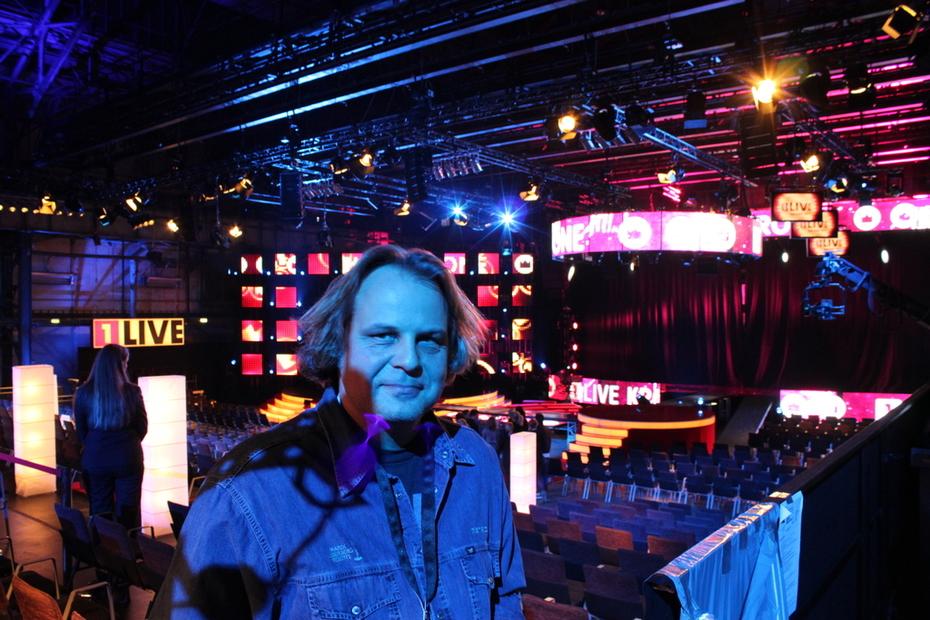 Werner Kokott bei der 1 Live Krone