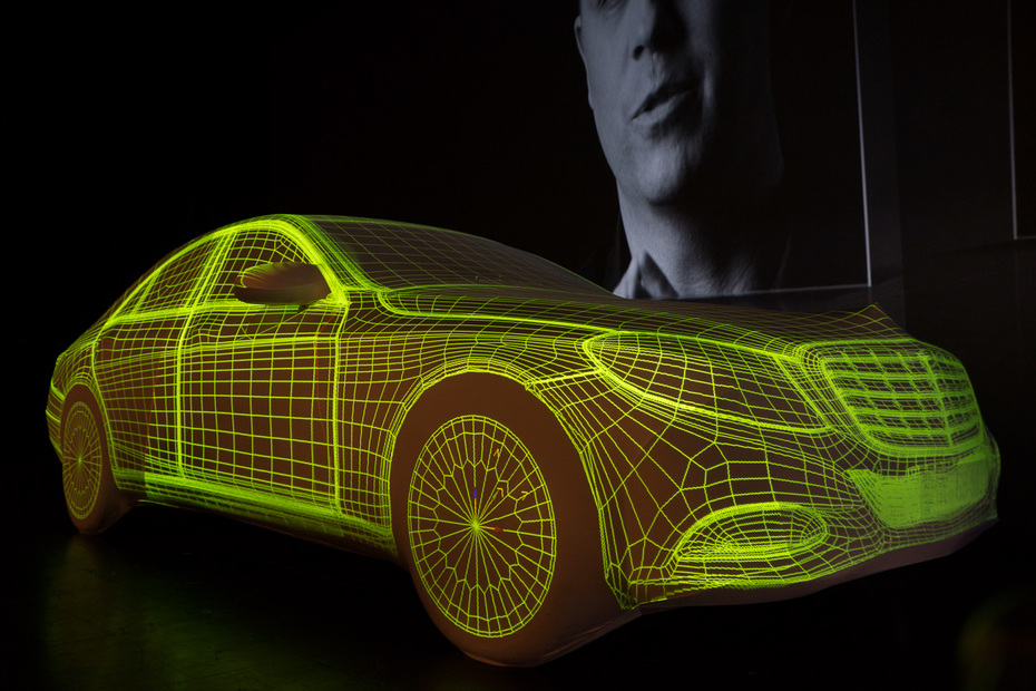 """Mercedes S-Class """"Projection Mapping"""""""