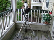 The apartment balcony observatory photo blog