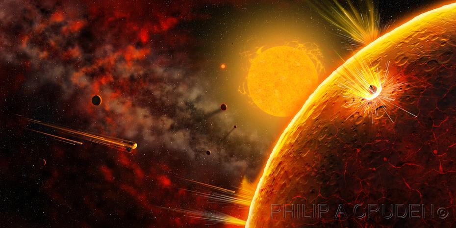 Solar System Creation