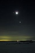 2012 Febuary 26 Jupiter, Moon and Venus Conjonction
