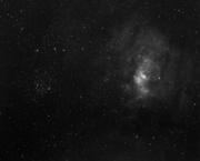 NGC7635 & M52 in Hydrogen Alpha