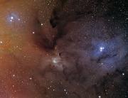 Rho Ophiuchi (IC4304 and 4303)