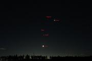 Venus,Mars, Jupiter and Moon conjonction