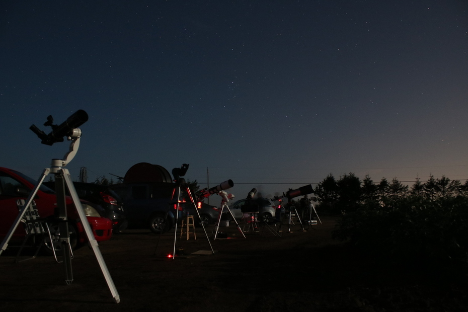 Canada QC, Stars Party for Mars, 2018 July 29