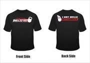 i got bells t-shirt by Ballistic Kettlebell Fitness Academy, India