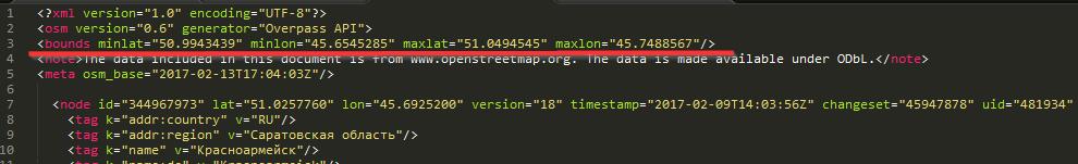 OSM import error from QGIS – Grasshopper