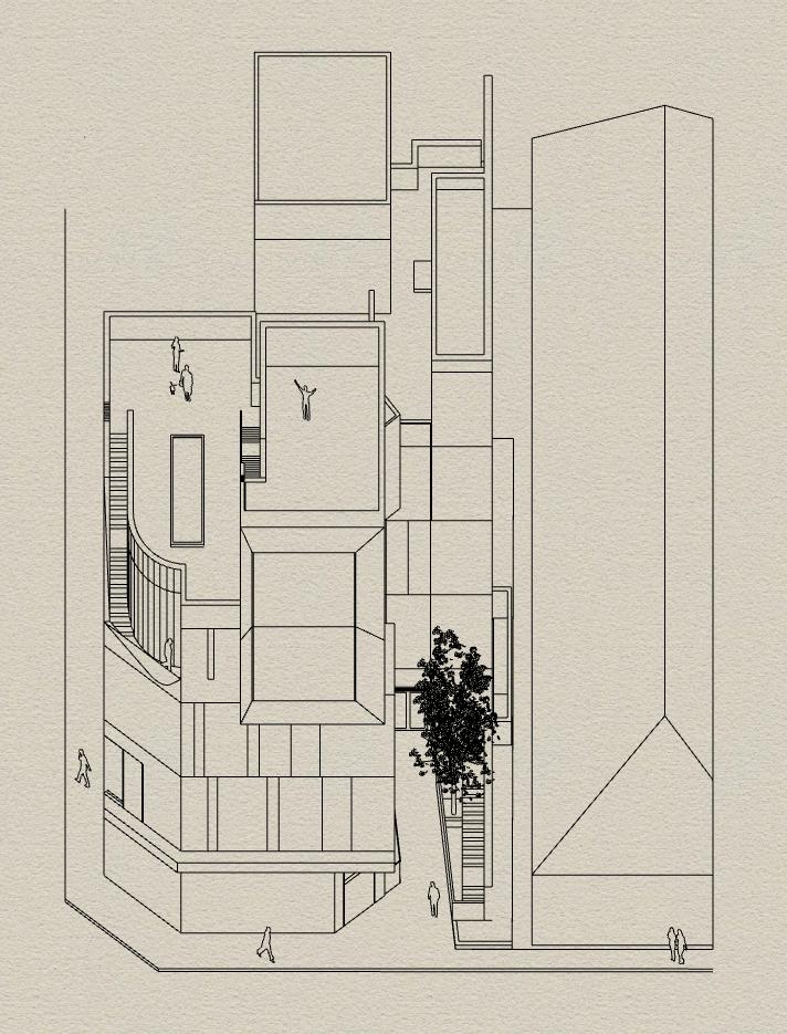 Hejduk perspective - Grasshopper