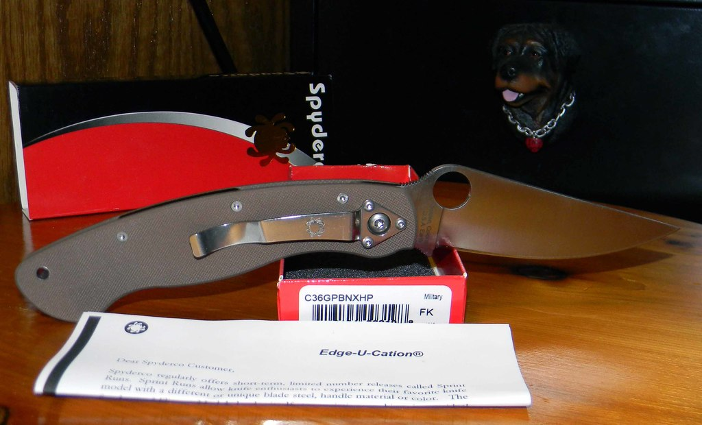 Spyderco Knife Reviews - iKnife Collector