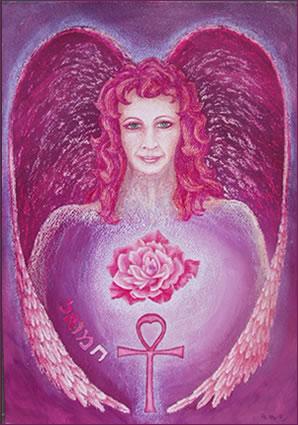 3 Rose Pink Ray & AA Chamuel – LIGHTGRID - Lichtnetz - REDDELUZ