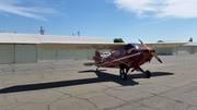 Outside my hangar at O52