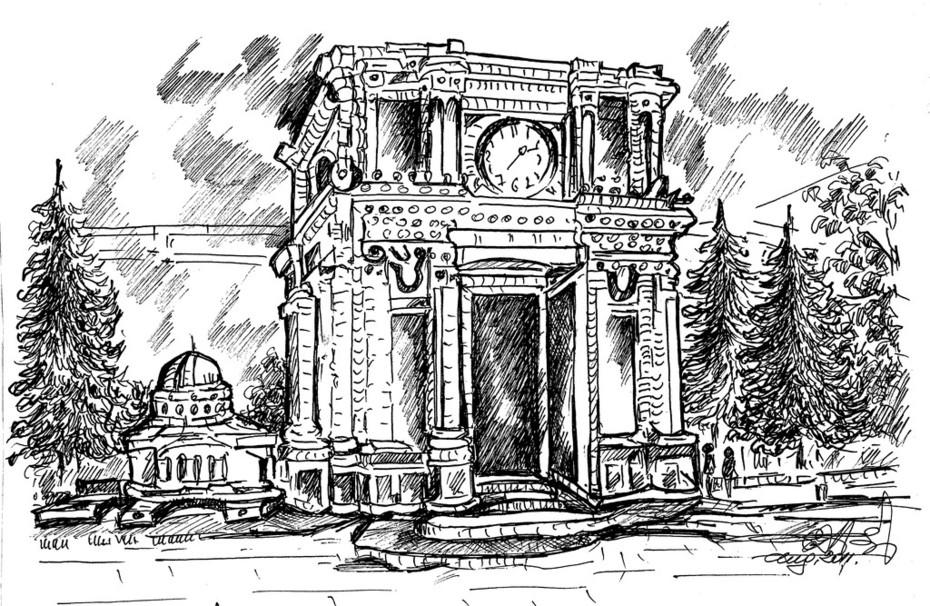 Chișinău - Porțile Sfinte:Autor C.A.-Donosă