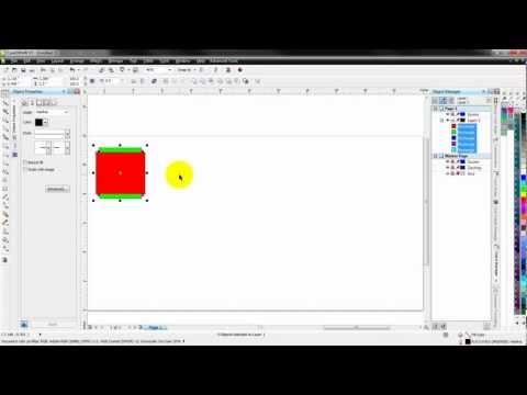 TTO - Corel Draw alignment tools