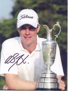 Sports Golf International Autographed Photos