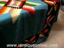 Antique Native American Navajo Blanket