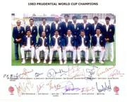 Sports Cricket India Autographed Photos